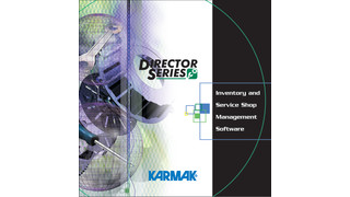 Karmak Director Series Inventory and Service Shop Management Software