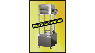 Lanair Waste Oil Fired Heater