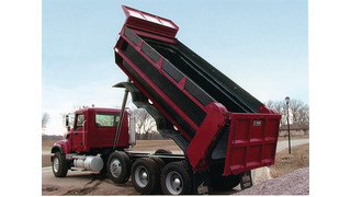 Poly Tipper Dump body