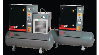 QRS Series Rotary Screw Air Compressors