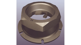 Securelok™ spindle nut