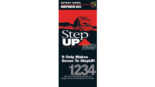 Series 60 Step UP overhaul package and reliabilt engine replacement promotion