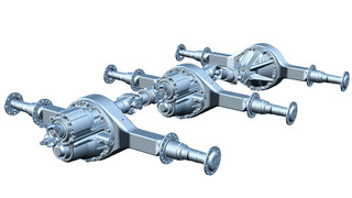 three new Dana® Spicer® tridem drive axles