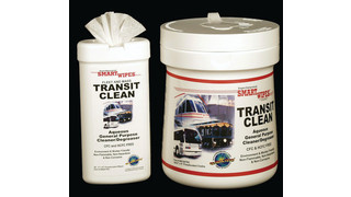 Transit Clean Aqueous Wipes