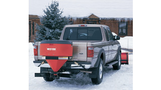 Truck Mounted Salt Spreader