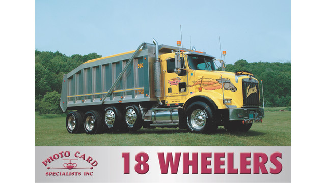 18 Wheelers Trading Cards