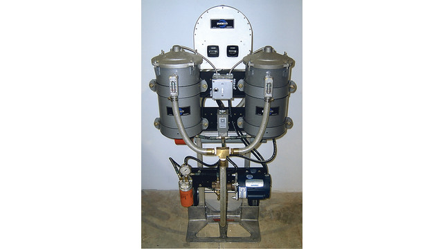 Bypass oil filtration system