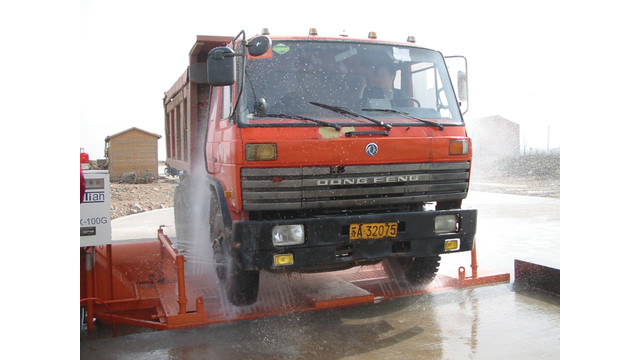 Cyclonator®, DCX wheel wash system