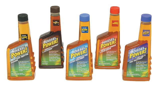 DieselPower!™ fuel and engine additives