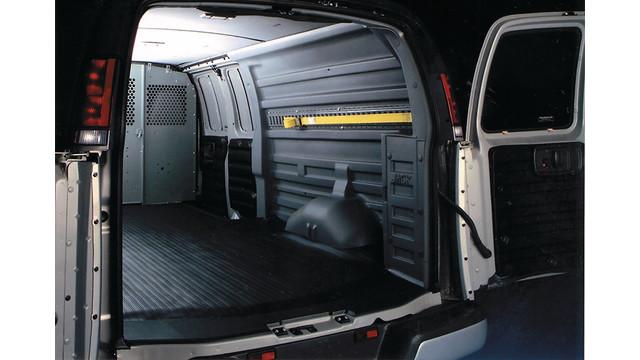 Durakon van panels and bulkhead divider