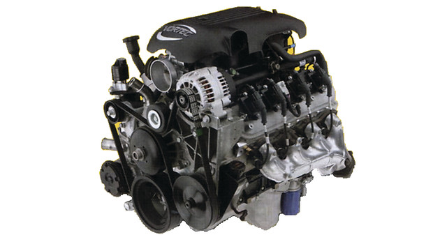 Vortec V8 engine