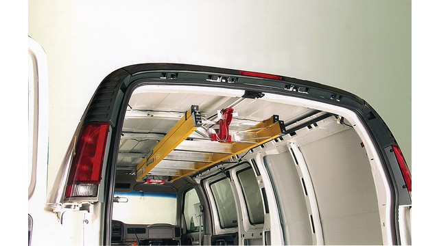 Weather Guard  Sliding Ladder Rack