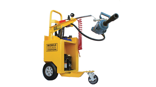WS-05 Mobile Wheel Work Station