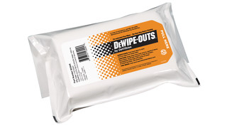 DeWipe-Outs® Pre-saturated Prep Wipes
