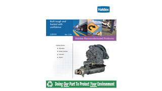 Remanufactured Electrical Cross Reference Guide ' Brochure