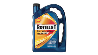 Shell Rotella T Synthetic 5W-40 Motor Oil