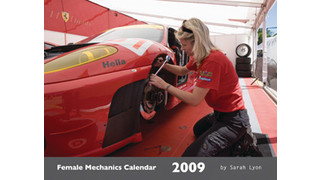 Female Mechanics Calendar