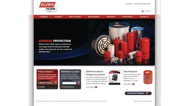 Redesigned Web Site and e-catalog