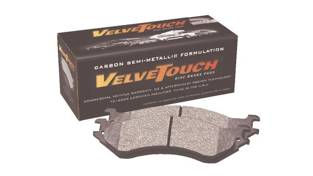 VelveTouch's Carbon Semi-Metallic disc brake pad