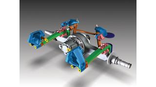 AG210L, AG400L Rear Suspensions