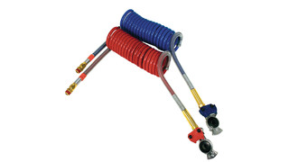Coiled Air Gladhand Assemblies