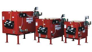 CB200, CB350, CB500 Coil Tube Boilers