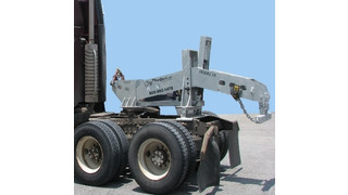 Model 10 Portable Fifth Wheel Wrecker Tow Boom