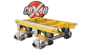 SAF CBX40 Air Suspension System