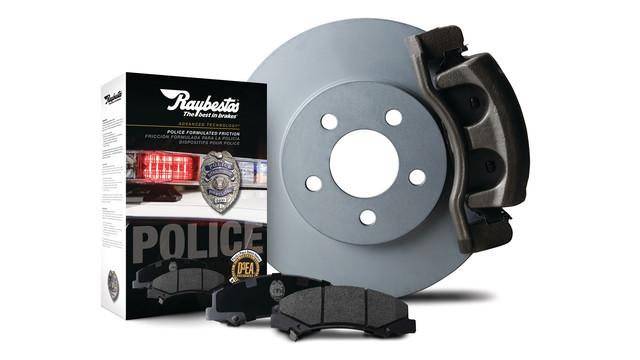Raybestos Police-Specific Brake System