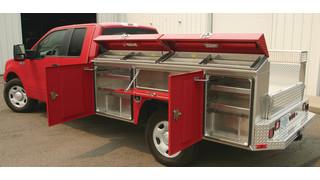 Silverback Aluminum Service Body
