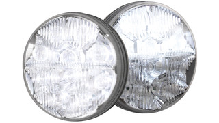 7 round LED headlamps