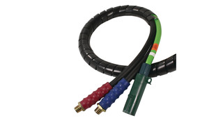 3 In 1 Electrical and Air Hose
