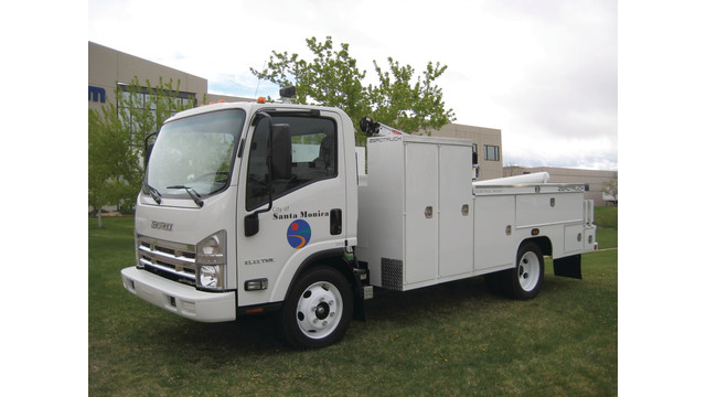 Electric Commercial Truck