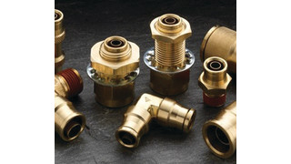 Push-In Air Brake Fittings