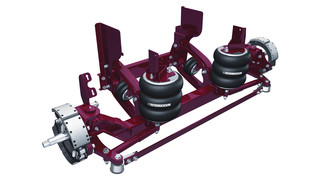 Steerable Lift Axles