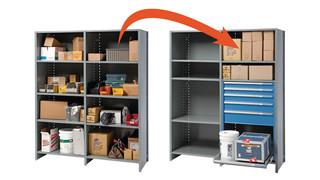 Shelf Converter System