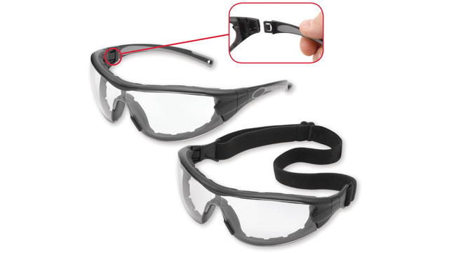 Swap protective eyewear