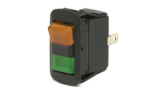 Wide Lens LED Rocker Switch