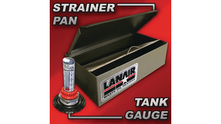 Strainer Pan & Tank Gauge Combo Package