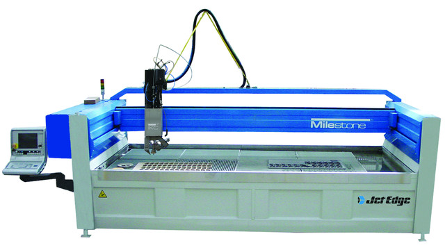 Milestone 5 Axis Water Jet System