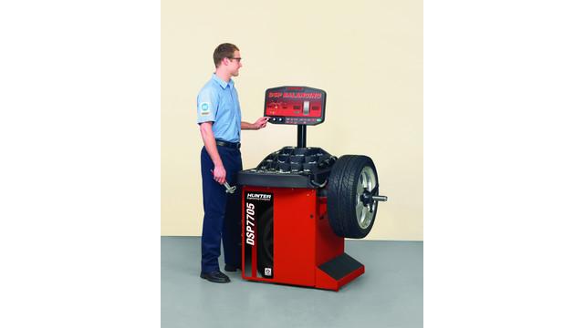 DSP7705 Wheel Balancer