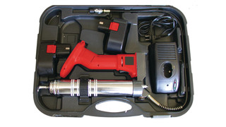 912-19 is a 19.2-volt heavy-duty cordless grease gun