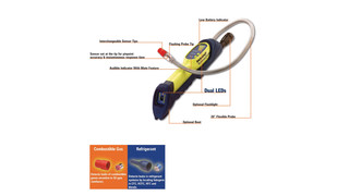 Informant 2 dual purpose leak detector