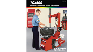 Swing-ArmTCX500 Tabletop Tire Changer brochure