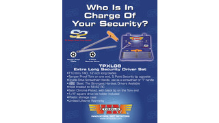 TPXL08 extra long security driver set