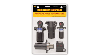 Vehicle side trailer testers
