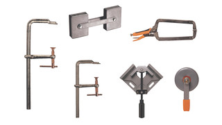 Heavy-duty welding clamps