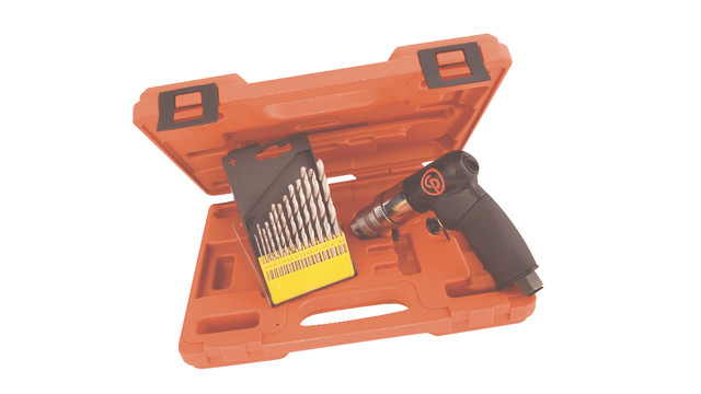CP7300RK/CP7300RKM kit with 1/4 Reversible Mini Air Drill