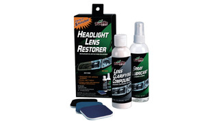 Headlight Lens Restorer Kit