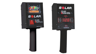 Solar Analog (No. 1850) and Digital (No. 1860) Fixed Load Testers